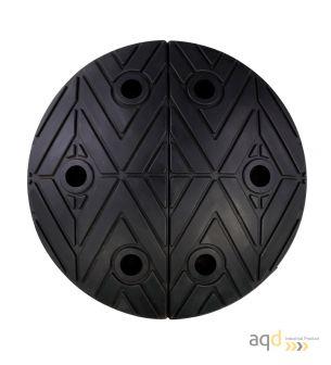 Banda reductora de velocidad pieza inicial negra 250 x 420 x 75 mm - Banda reductora de velocidad