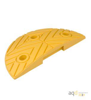 Banda reductora de velocidad pieza terminal amarilla 250 x 420 x 75 mm - Banda reductora de velocidad