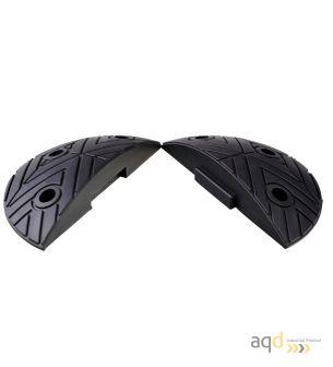 Banda reductora de velocidad pieza terminal negra 250 x 420 x 75 mm - Banda reductora de velocidad
