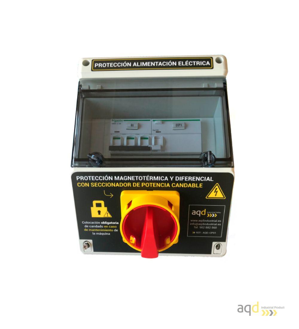 Protección de alimentación eléctrica AQD-CP01 - Productos AQD Industrial Safety Bajo pedido