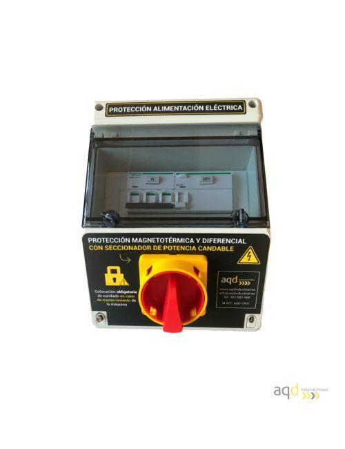 Protección de alimentación eléctrica AQD-CP01