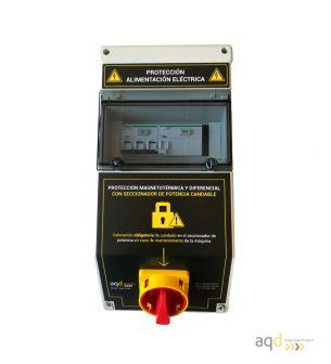 Protección de alimentación eléctrica AQD-CP02 - Productos AQD Industrial Safety Bajo pedido