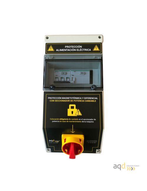 Protección de alimentación eléctrica AQD-CP02
