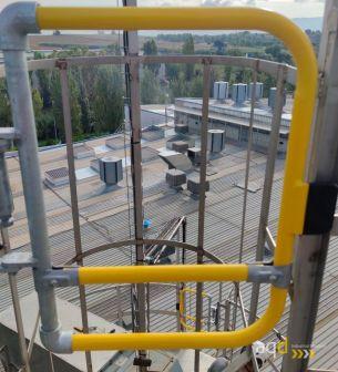 Puertas KeeGate - Sistemas de seguridad para trabajos en altura Bajo pedido
