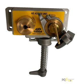 AIE Enclavamiento mecánico de acceso de doble llave - Productos Castell Interlocks Bajo pedido