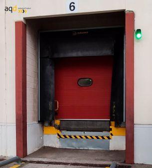 Sistema de seguridad en los muelles de carga SALVO - Sistemas de bloqueo para camiones Bajo pedido