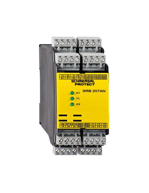 PLC, relés y dispositivos de seguridad