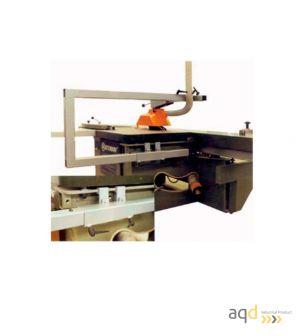 Protección sierra circular escuadradora robusta - Protecciones máquina-herramienta madera