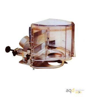 Protección para efectuar curvas en tupí - Protecciones máquina-herramienta madera