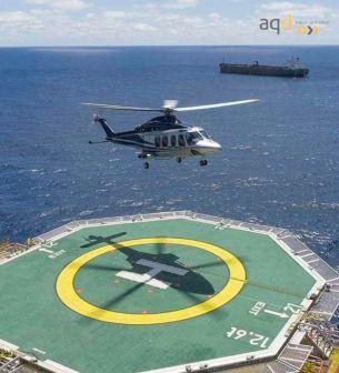 Red de seguridad perimetral en heliplataformas - Red de seguridad perimetral en heliplataformas Bajo pedido