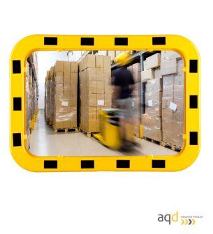 Espejo Industrial EUvex, 40 x 60 cm, rectangular, visión 9-15 m - Espejo Industrial EUvex