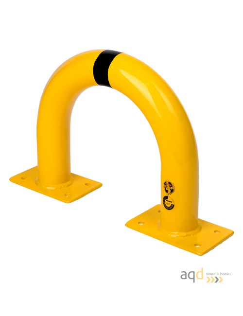 Protección puente acero galvanizado, 350 mm (alt.) x 375 mm (anch.)