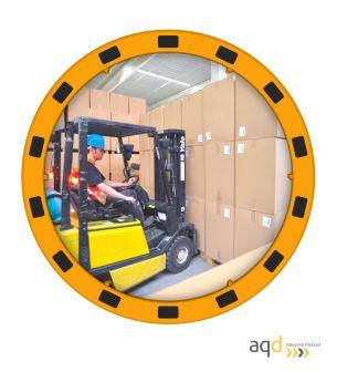 Espejo Industrial EUvex, 60 cm, redondo, visión 9-15 m - Espejo Industrial EUvex
