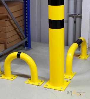 Protección puente acero galvanizado, 350 mm (alt.) x 375 mm (anch.) - Protección puente de acero galvanizado