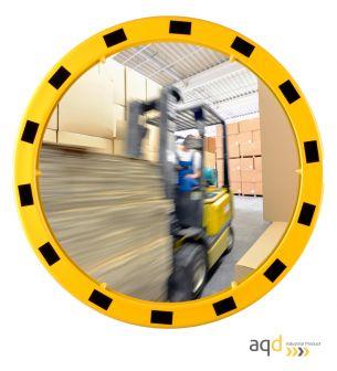 Espejo Industrial EUvex, 80 cm, redondo, visión 15-22 m - Espejo Industrial EUvex