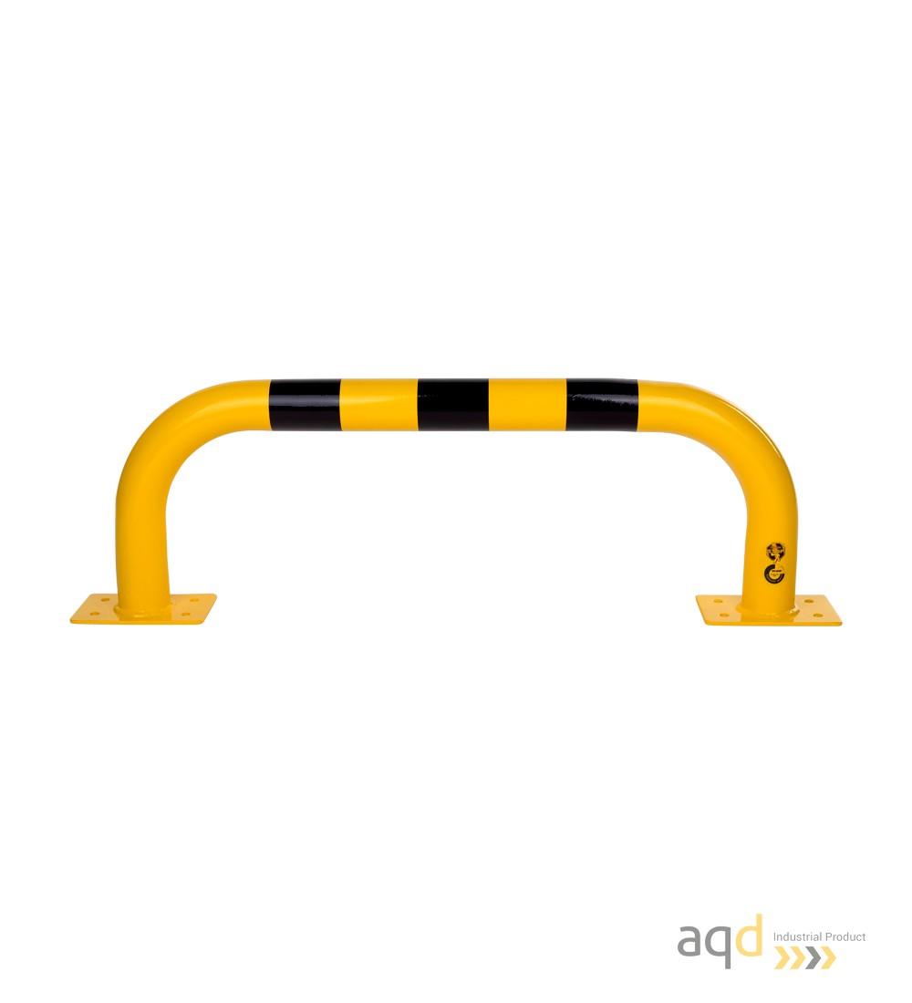 Protección puente acero galvanizado, 350 mm (alt.) x 1000 mm (anch.) - Protección puente de acero galvanizado