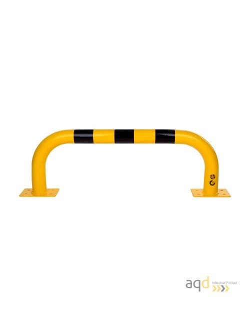 Protección puente acero galvanizado, 350 mm (alt.) x 1000 mm (anch.)