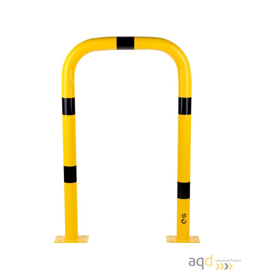 Protección puente acero galvanizado, 1200 mm (alt.) x 750 mm (anch.) - Protección puente de acero galvanizado