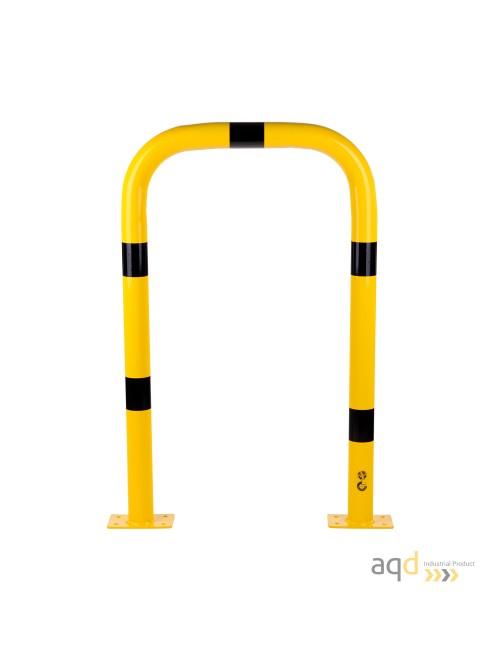 Protección puente acero galvanizado, 1200 mm (alt.) x 750 mm (anch.)