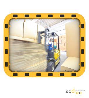 Espejo Industrial EUvex, 60 x 80 cm, rectangular, visión 15-22 m - Espejo Industrial EUvex