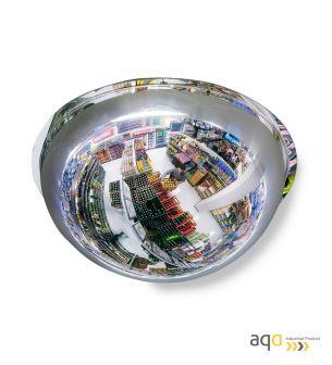 Espejo domo esférico, visión 360 grados y 16-20 m - Espejo domo esférico, visión 360 grados