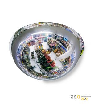 Espejo domo esférico, visión 360 grados y 50-60 m - Espejo domo esférico, visión 360 grados