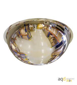 Espejo domo esférico de policarbonato, visión 360 grados y 16-20 m - Espejo domo esférico, visión 360 grados