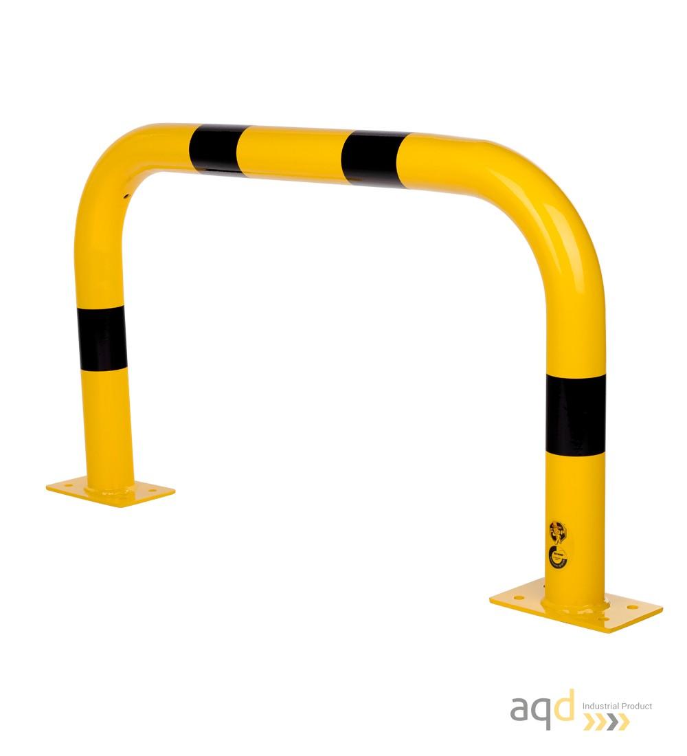 Protección puente de acero, 600 mm (alt) x 1000 mm (anch) - Protección puente de acero