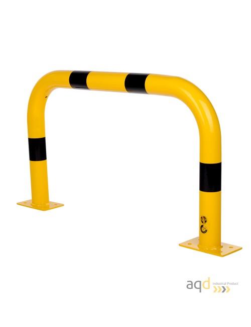 Protección puente de acero, 600 mm (alt) x 1000 mm (anch)