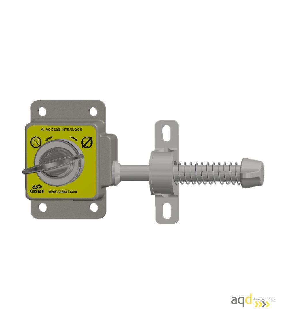 AI Enclavamiento mecánico de acceso de una llave - Productos Castell Interlocks Bajo pedido