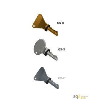 Llaves de seguridad codificables Q Castell Interlocks - Productos Castell Interlocks Bajo pedido