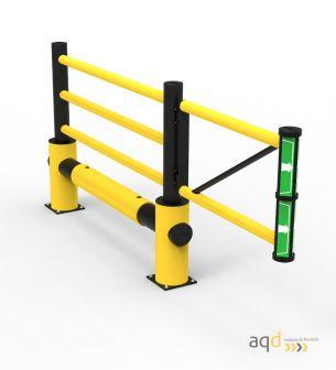 """Puerta batiente flexible """"Juliet"""" - Barreras, vallas y guardacuerpos Bajo pedido"""
