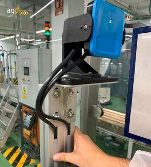 Soporte regulable para sensor de radar Inxpect - Radar Inxpect de seguridad industrial