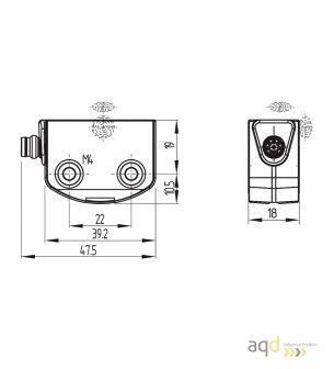 RSS260-D-ST Sensor de seguridad Schmersal -  Schmersal Sensor de seguridad RSS260