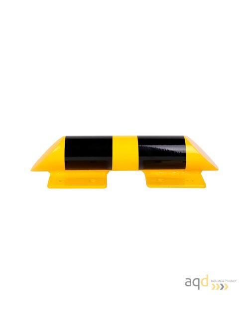 Guardapiés de acero de 76 mm de diámetro y 400 mm de longitud (4,3 kg)