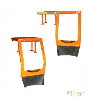 Protección deslizante para plato de torno - Protecciones para máquina-herramienta,