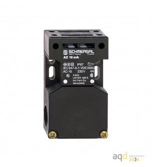 Schmersal Interruptor AZ 16 (no incluye actuador) - Schmersal Interruptor de seguridad con actuador por separado AZ 16 Schmersal