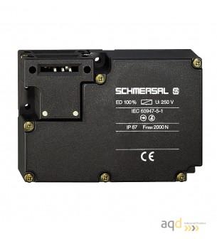 Schmersal Interruptor desbloqueo por tensión AZM 161 - AZM 161 Interruptor de seguridad con bloqueo por solenoide