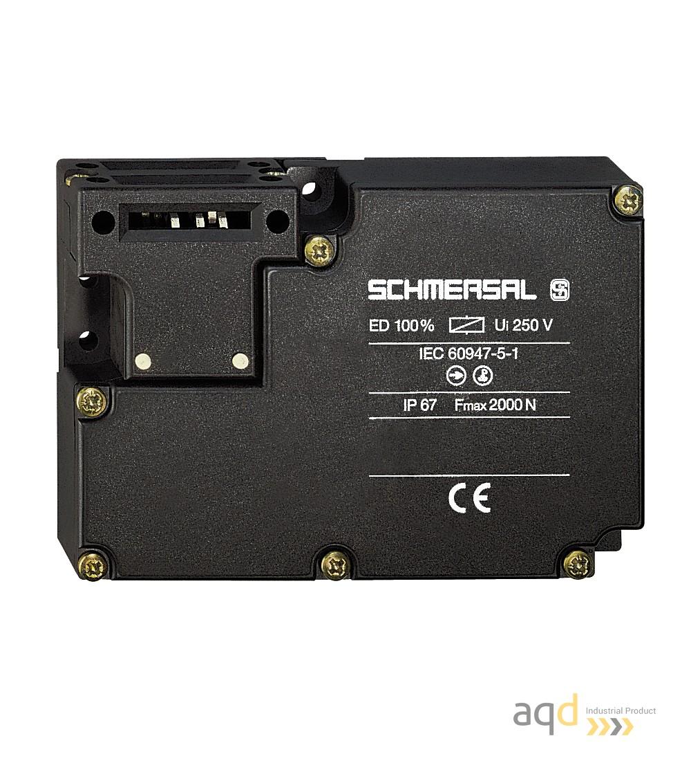Schmersal Interruptor desbloqueo por tensión AZM 161 - Schmersal Interruptor de seguridad con bloqueo por solenoide AZM 161
