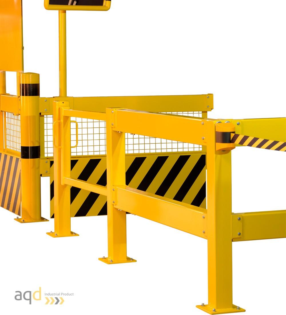 Barandilla de seguridad modular - Barreras, vallas y guardacuerpos Bajo pedido