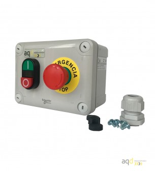 Caja marcha paro AQD Bot 3 S - Productos AQD Industrial Safety