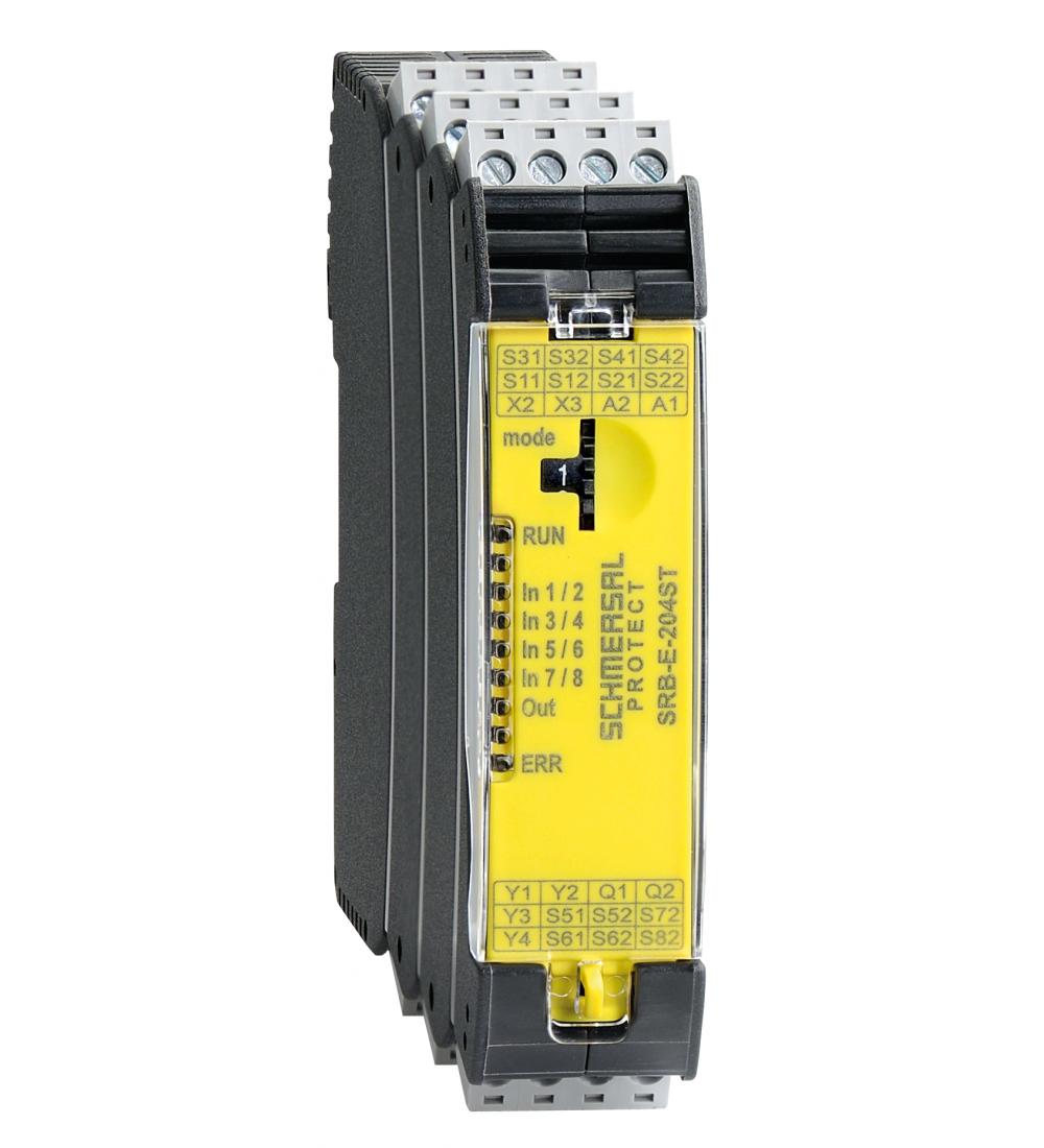 Schmersal relé de seguridad SRB-E-204ST - PLC, relés y dispositivos de seguridad