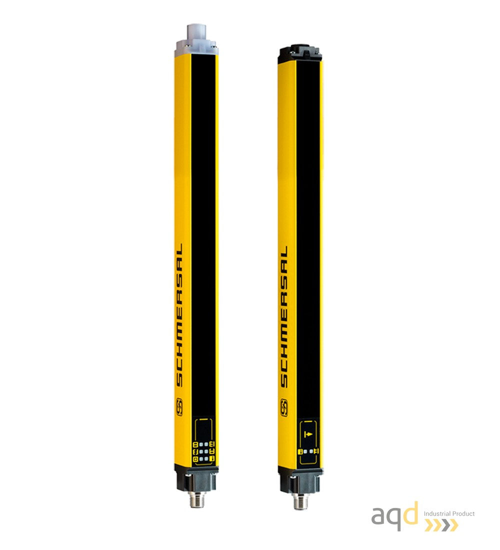 Barrera optoelectrónica, categoría 2, para manos, resolución 30 mm, protección 570 mm - SLC240COM: barrera categoría 2 (Manos)