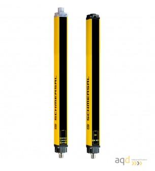Barrera optoelectrónica, categoría 2, para manos, resolución 35 mm, protección 490 mm - SLC240COM: barrera categoría 2 (Manos)