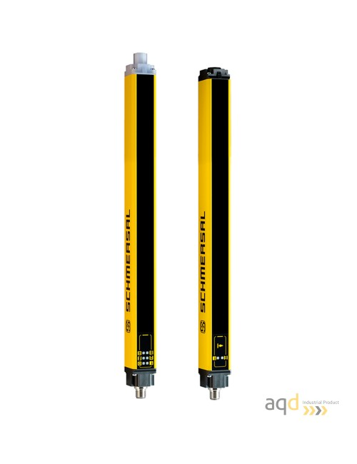 Barrera optoelectrónica, categoría 2, para manos, resolución 35 mm, protección 1210 mm