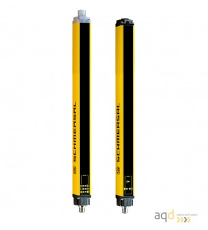 Barrera optoelectrónica, categoría 2, para dedos, protección 730 mm -  SLC240COM: barrera categoría 2 (dedos)