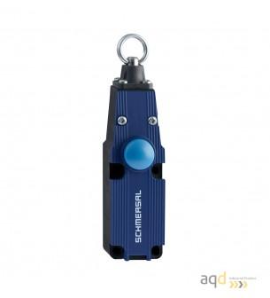 Schmersal Interruptor de paro de emergencia ZQ 700-02 - Bimanuales, pedales y mandos de seguridad