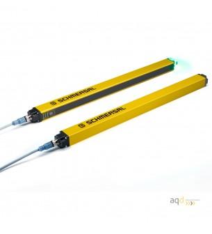 Barrera optoelectrónica, categoría 4, para dedos, protección 490 mm - SLC440COM: barrera categoría 4 (Dedos)