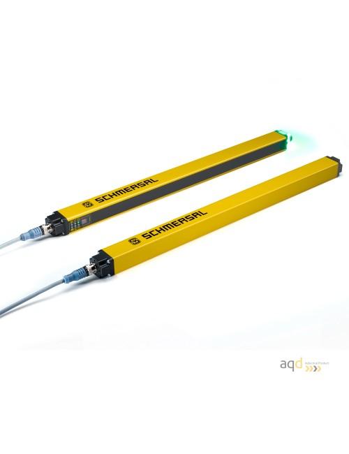 Barrera optoelectrónica, categoría 4, para dedos, protección 570 mm
