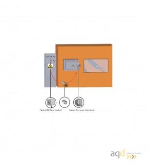 Salus20 interruptor de aislamiento por llave atrapada - Dispositivos de bloqueo y consignación Bajo pedido